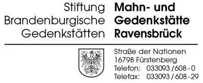 Logo Mahn- und Gedenkstätte Ravensbrück